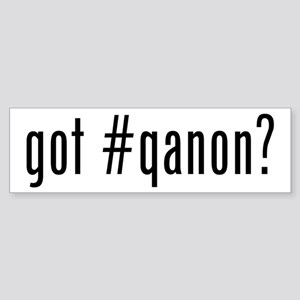 got #qanon Bumper Sticker