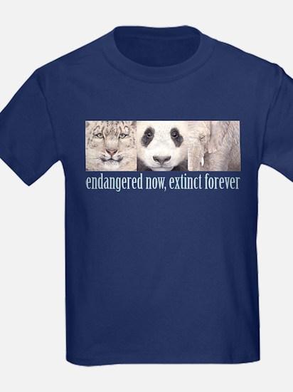 Endangered now, Extinct forev T