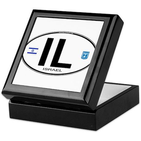Israel Euro Oval Keepsake Box
