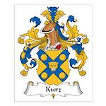 Kurz Family Crest Small Poster