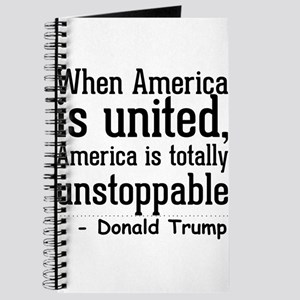 When America is united, America is totally Journal