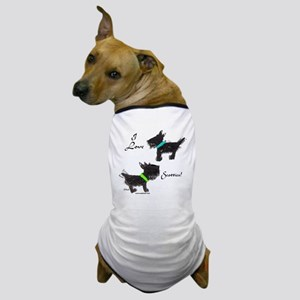 I Love Scotties Dog T-Shirt