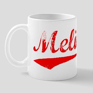 Vintage Melina (Red) Mug