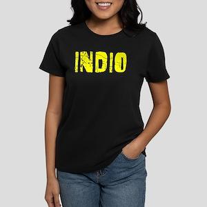 Indio Faded (Gold) Women's Dark T-Shirt