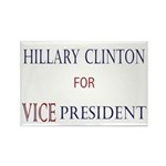 Vice President Hillary Rectangle Magnet (100 pack)