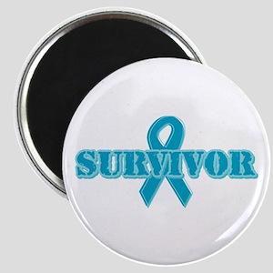 Teal Ribbon Survivor Magnet