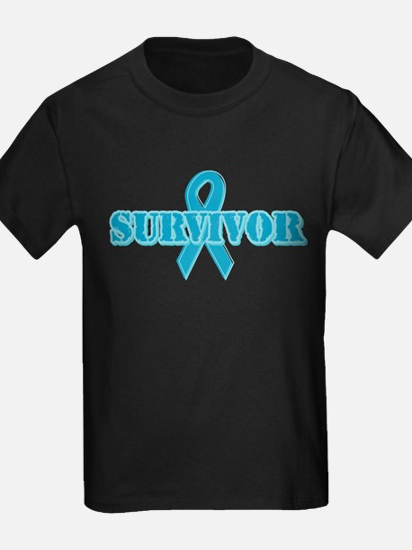 Teal Ribbon Survivor T
