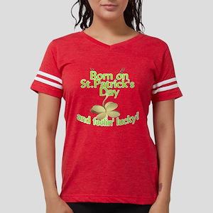 St. Patrick's Day Birthday Ch Women's Dark T-Shirt