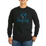 Shower with a Coastie ver2 Long Sleeve Dark T-Shir