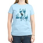 Shower with a Coastie ver2 Women's Light T-Shirt