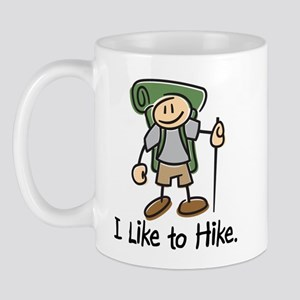 I Like To Hike (Green) Mug