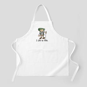 I Like To Hike (Green) BBQ Apron