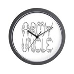 Army Uncle Wall Clock