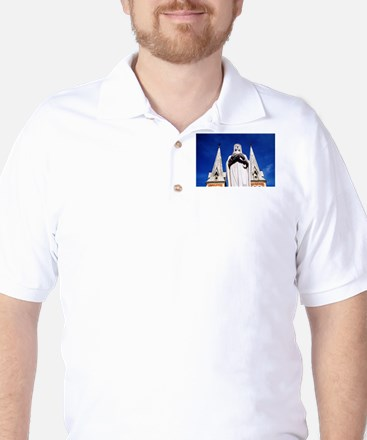 The Holy Mother Mary Golf Shirt