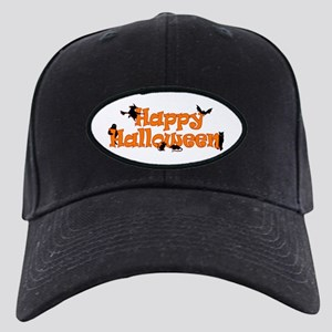 Happy Halloween Black Cap