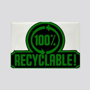 100% Recyclable Rectangle Magnet