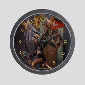 Tooth and Nail Wall Clock