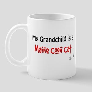 Maine Coon Grandchild Mug