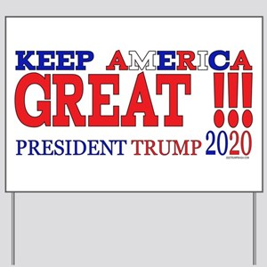 TRUMP | Keep America Great President TRU Yard Sign