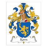 Korn Family Crest Small Poster