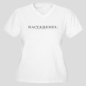 Racy Rebel Alternate2 Women's Plus Size V-Neck T-S