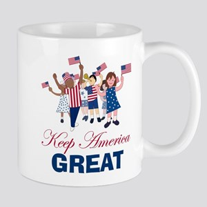 Kids Keep America Great Mugs