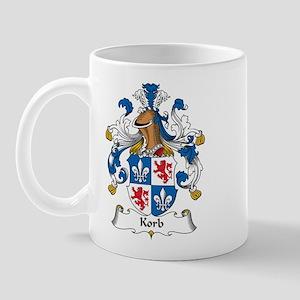 Korb Family Crest Mug