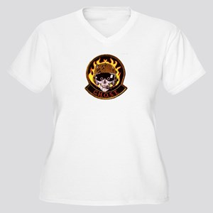G.H.O.S.T Area 51 Women's Plus Size V-Neck T-Shirt