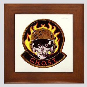 G.H.O.S.T Area 51 Framed Tile