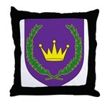 King of the East Throw Pillow