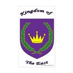 Kingdom of the East Rectangle Sticker