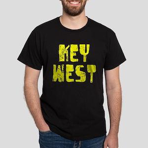 Key West Faded (Gold) Dark T-Shirt