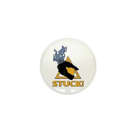 halo - stuck! Mini Button (100 pack)