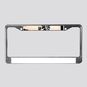 Wind Mill License Plate Frame