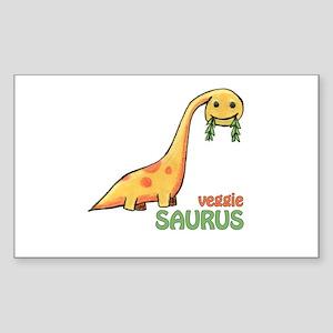 veggiesaurus Rectangle Sticker