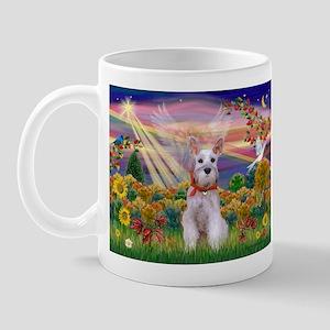 Autumn Angel Schnauzer Mug