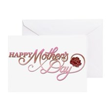 Happy Mother's Day Rose Greeting Card