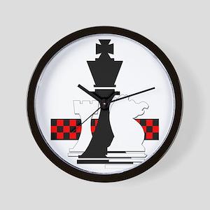 Chess Wall Clock