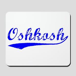 Vintage Oshkosh (Blue) Mousepad