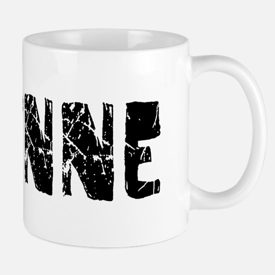 Corinne Faded (Black) Mug