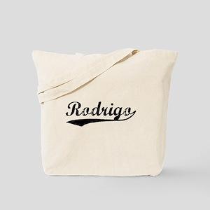 Vintage Rodrigo (Black) Tote Bag