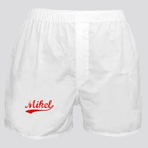 Vintage Mikel (Red) Boxer Shorts