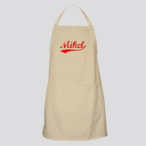 Vintage Mikel (Red) BBQ Apron