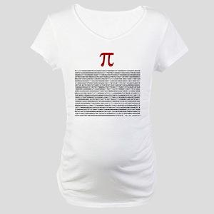 Pi = 3.1415926535897932384626 Maternity T-Shirt
