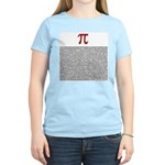 Pi = 3.1415926535897932384626 Women's Light T-Shir