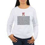 Pi = 3.1415926535897932384626 Women's Long Sleeve