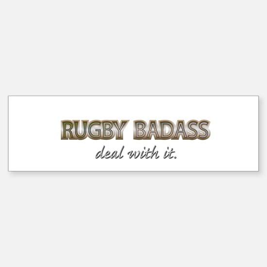 rugby Bumper Bumper Bumper Sticker