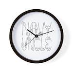 Navy Uncle Wall Clock