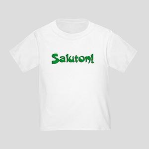 Hi - Bye! Toddler T-Shirt