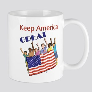 Adults Keep America Great Mugs